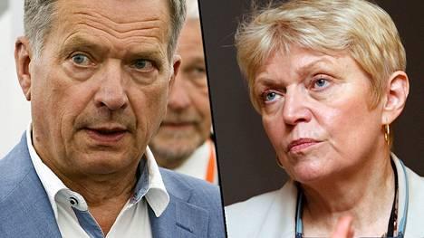 Doris Barnett on Sauli Niinistön kanssa täysin eri linjoilla pakotesäännösten tulkinnasta.