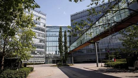 Microsoft-talo eli entinen Nokia House spoon Keilaniemessä.