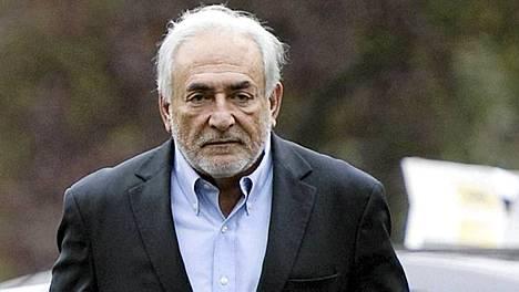 62-vuotias Strauss-Kahn erosi Kansainvälisen valuuttarahaston IMF:n johdosta viime keväänä.