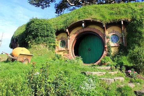 Frodon ja Bilbon koti.
