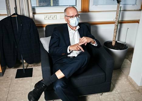 Husín toimitusjohtaja Juha Tuominen on arvostellut uusinta sote-mallia.