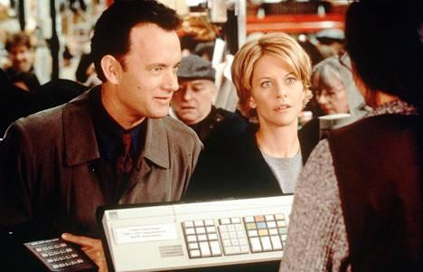 Tom Hanks ja Meg Ryan tähdittivät yhdessä myös elokuvaa Sinulle on postia.