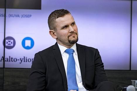 Vuokraturvan toimitusjohtaja Timo Metsola.