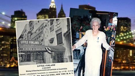 New Yorkin ravintoloitsijalegendan Tyyni Kalervon uskomaton elämä – Kekkosen kanssa pusuja 30-luvulla, Trumpin kanssa siirtolaismitali 80-luvulla