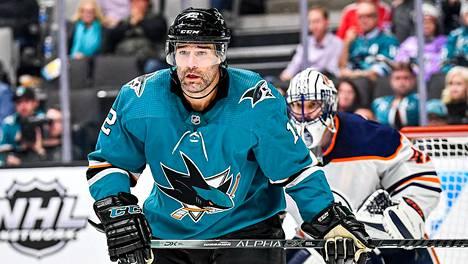 Patrick Marleau on Sharksin legenda.
