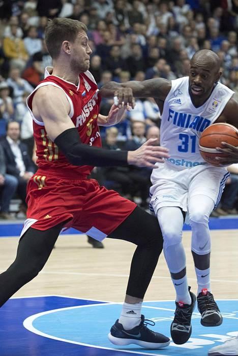 Jamar Wilson on maajoukkueen tärkeimpiä pelaajia.