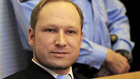 Anders Behring Breivik oikeudessa 6. helmikuuta.
