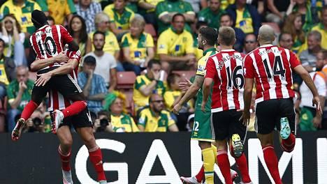 Norwich-ottelu oli Southamptonin juhlaa.