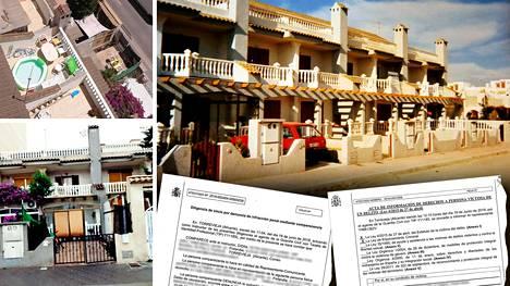 Suomalaispariskunnan rivitaloasunto sijaitsee noin kilometrin päässä rannalta Torreviejassa Espanjassa.