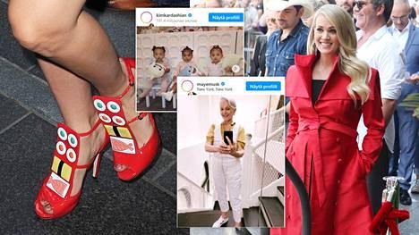 Muun muassa Lady Gaga, Carrie Underwood, Maye Musk ja Kardashian-klaanin nuorimmat ovat käyttäneet suomalaisen Minna Parikan kenkiä.