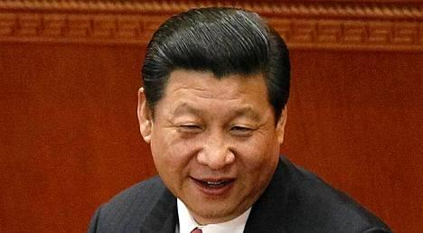 Presidentti Xi Jinping.
