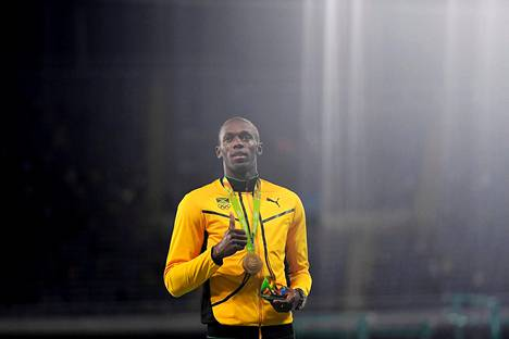Myös Bolt palkittiin maanantaina.