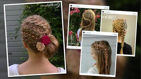 Alina Aarnio, 12, on itseoppinut lettitaituri.
