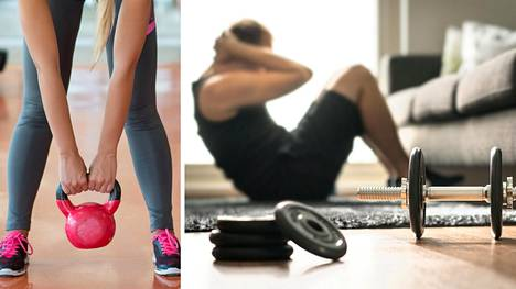 Kotijumpalla voi ehkäistä lihasten kutistumista.