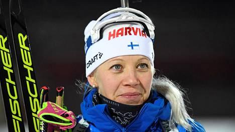 Komean uransa päättänyt Kaisa Mäkäräinen on monien suosikki.