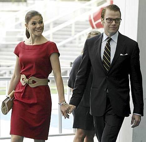 Victoria ja Daniel tulevat Suomeen.