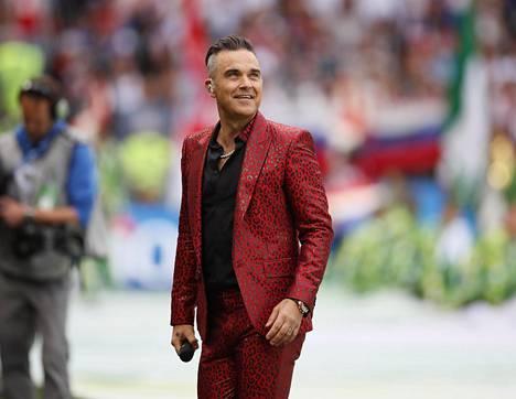 Tyttären syntymä vaikutti suuresti laulajatähti Robbie Williamsin elämäntyyliin.