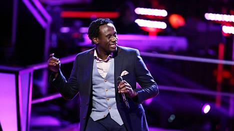Anthony Riley The Voice -kilpailun kahdeksannella kaudella.