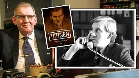 """Seppo Tiitinen kertoo muistelmissaan, kuinka Suojelupoliisi sai 1970-luvun lopulla Ruotsin Säpolta yleishälytyksen """"epäilyttävästi käyttäytyvästä"""" Svetlana Appelqvistista."""