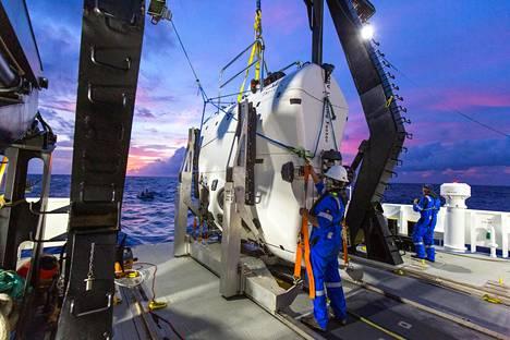 Triton-yhtiön rakentama sukellusvene voi mennä niin syvälle kuin vain Maapallolla pääsee.