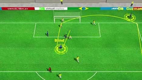 MM-kisat 2014: Brasilia-Hollanti 0-2