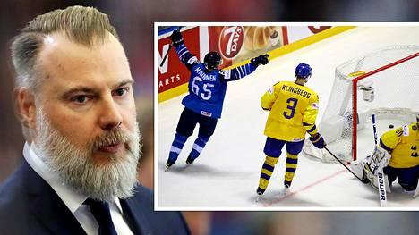 Sakari Mannisen jatkoaikamaali pudotti valmentaja Rikard Grönborgin 21 NHL-miehen vahvistaman Tre Kronorin mitalipeleistä.