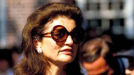 Jackie Kennedy Onassis vuonna 1983.