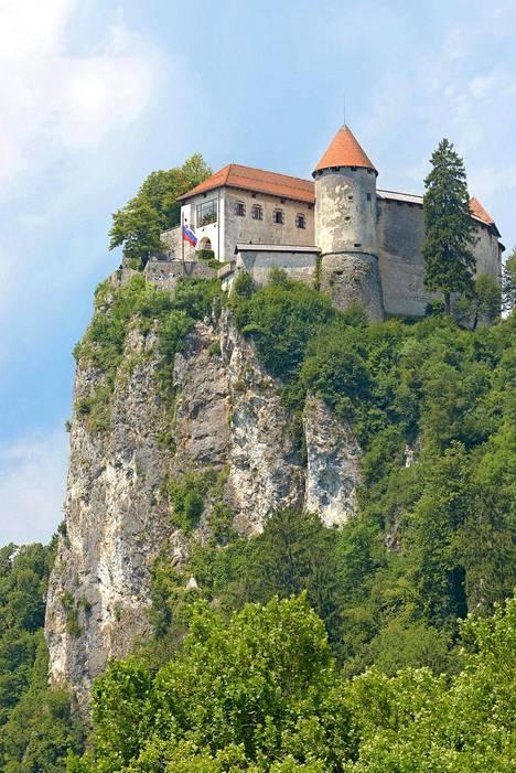 1000-luvulta juontuvaa Bledin linnaa pidetään Slovenian vanhimpana linnana. Sen paras nähtävyys ovat pihamaalta avautuvat maisemat.