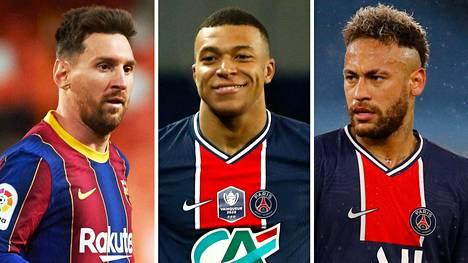 """Lehti: PSG kaavailee ensi kaudeksi järisyttävää unelmatrioa – lähestynyt Lionel Messiä """"tarjouksella, josta ei voi kieltäytyä"""""""