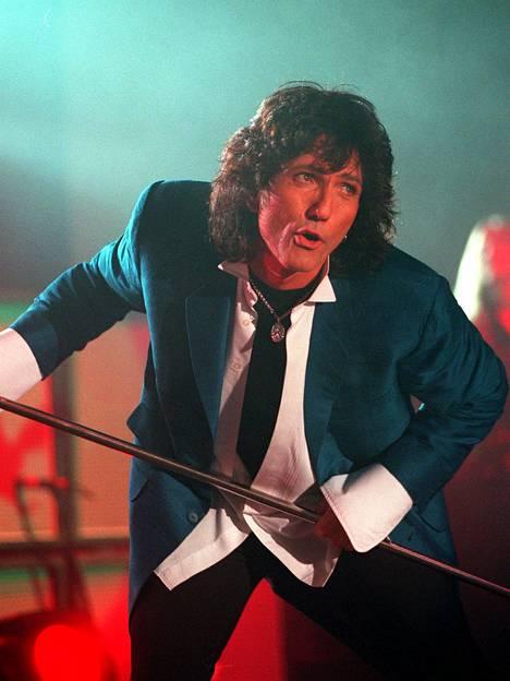 Whitesnake-yhtyeen David Coverdale kuvattuna 1997 Suomessa.