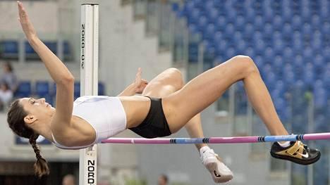 Maria Lasitskene on ollut voittamaton jo vuoden ja 11 kuukautta.