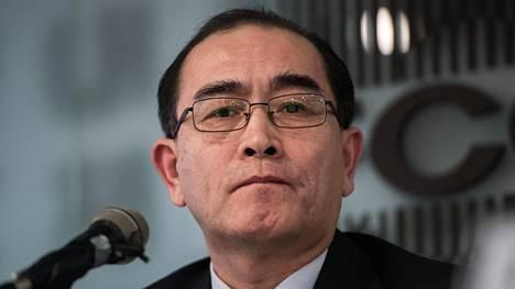 Pohjois-Korean Lontoon-varasuurlähettiläänä työskennellyt loikkari Thae Yong-ho on jälleen puhunut lehdistölle.