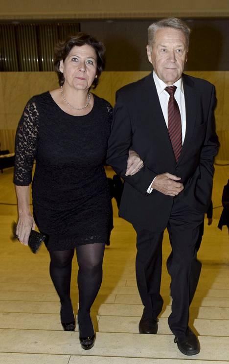 Matti ja Hilkka Ahde ovat olleet naimisissa vuosikymmeniä.