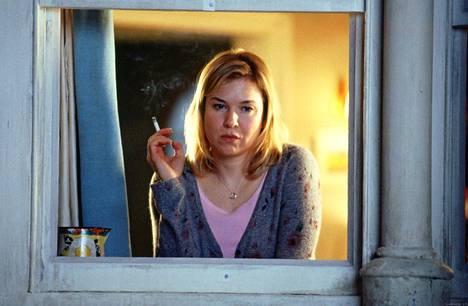 Tältä Zellweger näytti toisen Bridget Jones -elokuvan aikoihin vuonna 2004.