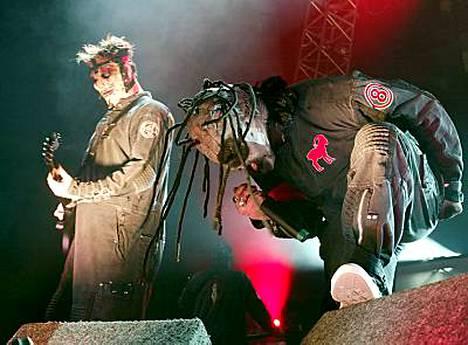 Slipknot konsertoi Suomessa syksyllä kahdesti.