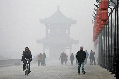 Xianin ilmanlaatu on karmealla tasolla.