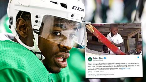 Koskettava tuhkimotarina: Vanhemmat hylkäsivät kiekkolupauksen lapsena sairaalan ovelle – on nyt murtautumassa NHL:ään