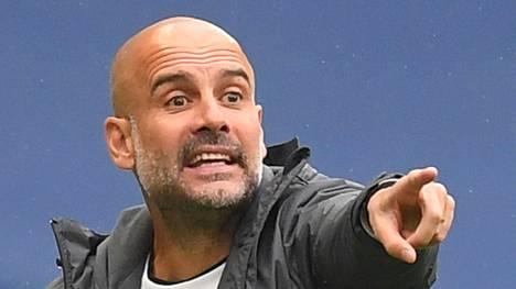Guardiola on luotsannut Cityä vuodesta 2016 lähtien.
