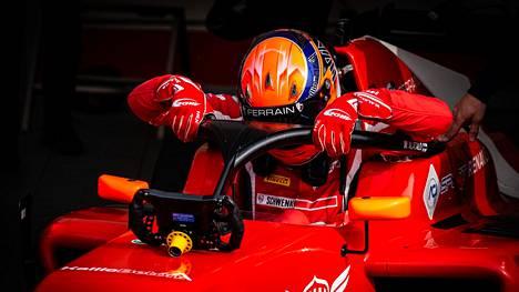William Alatalo on avausviikonlopun jälkeen Formula Regional -sarjassa kuudentena.