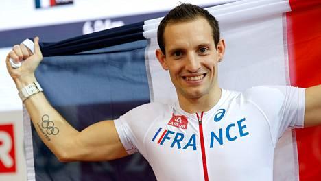 Renaud Lavillenie voitti seipään EM-kultaa.