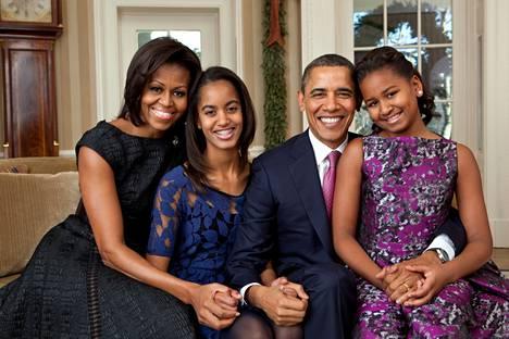 Sasha ja Malia Obama viettivät kahdeksan vuotta nuoruudestaan Valkoisessa talossa. Kuva on vuodelta 2011.