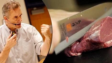 Psykologi Jordan Peterson ja hänen tyttärensä syövät vain punaista lihaa.