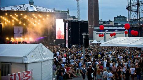 Festivaalilla kävi yhteensä 57 500 ihmistä.