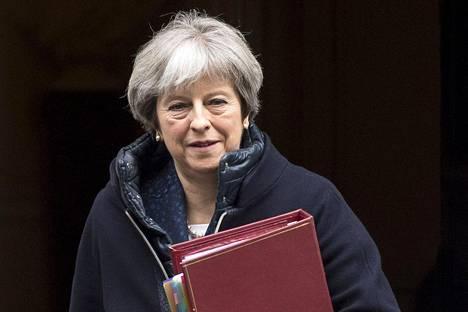 Theresa May puhui parlamentille myrkytystapauksesta.