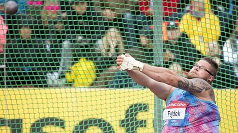 Puolan moukarikuningas Pawel Fajdek oli mukana Paavo Nurmi Gamesissa viime kesänä. Hän on tulossa Turkuun myös tänä vuonna.