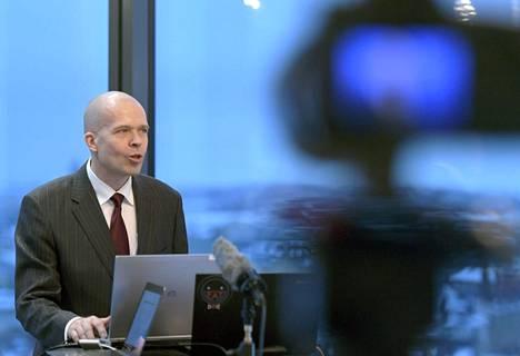Automatia Oy:n digitaalisista liiketoiminnoista vastaava johtaja Jyri Marviala.