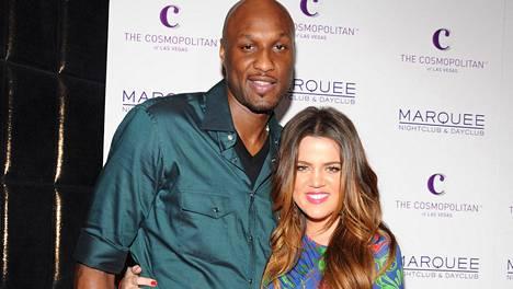 Lamar Odom ja Khloe Kardashian ovat olleet naimissa vuodesta 2009.