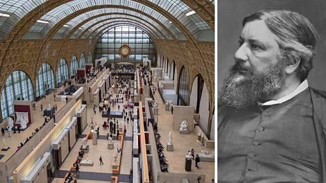 Gustave Courbet'n maalausta voi ihastella Musée d'Orsayssa Pariisissa.