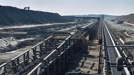 Terrafamen kaivos Sotkamossa on Euroopan suurin nikkelikaivos.