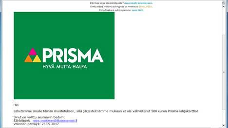 Lahjakortteja lupaaviin viesteihin ja muihin tilausansoihin hukkuu suomalaisilta 5-10 miljoonaa euroa